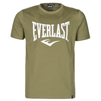 textil Herre T-shirts m. korte ærmer Everlast EVL- BASIC TEE-RUSSEL Kaki