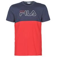 textil Herre T-shirts m. korte ærmer Fila JOPI Rød / Marineblå