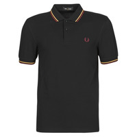 textil Herre Polo-t-shirts m. korte ærmer Fred Perry TWIN TIPPED FRED PERRY SHIRT Sort