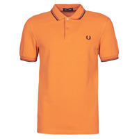 textil Herre Polo-t-shirts m. korte ærmer Fred Perry TWIN TIPPED FRED PERRY SHIRT Beige