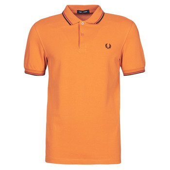 textil Herre Polo-t-shirts m. korte ærmer Fred Perry TWIN TIPPED FRED PERRY SHIRT Kamel