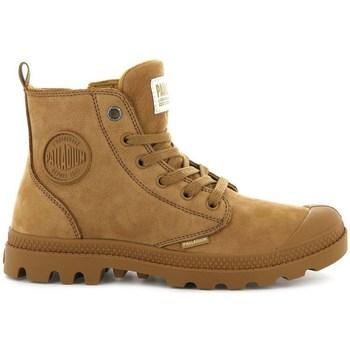 Sko Dame Støvler Palladium Boots Pampa HI Zip Brun