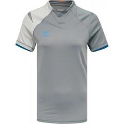 textil Dame T-shirts m. korte ærmer Hummel Maillot d'avant match  HmlInventus Femme gris
