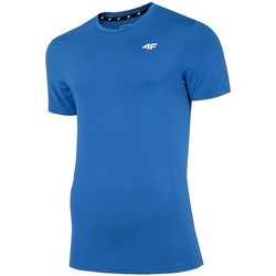 textil Herre T-shirts m. korte ærmer 4F TSMF002 Blå