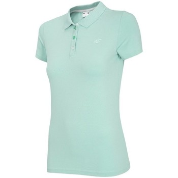 textil Dame Polo-t-shirts m. korte ærmer 4F TSD008 Grøn