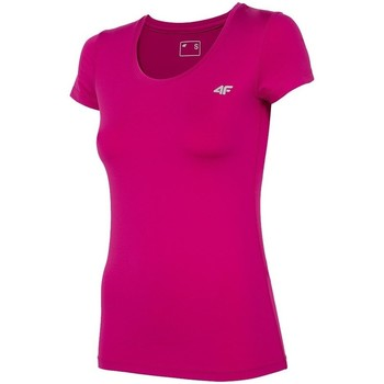 textil Dame T-shirts m. korte ærmer 4F TSDF002 Pink