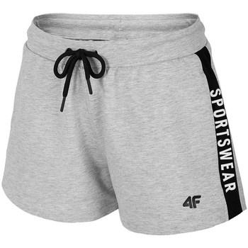 textil Dame Shorts 4F SKDD003 Grå