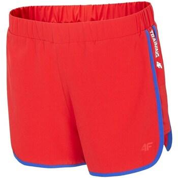 textil Dame Shorts 4F SKDF001 Rød