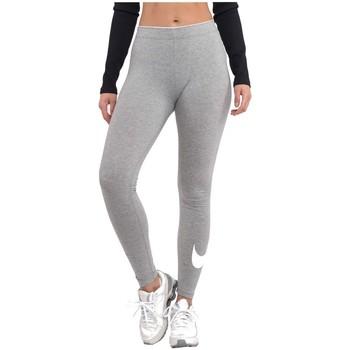 textil Dame Leggings Nike Wmns Club Logo Grå