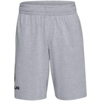 textil Herre Shorts Under Armour Sportstyle Cotton Logo Grå