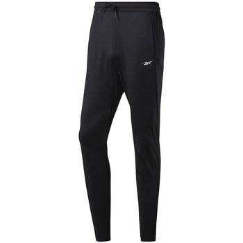textil Herre Træningsbukser Reebok Sport Workout Knit Pant Sort