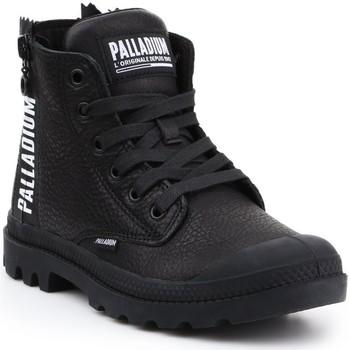 Sko Dame Høje sneakers Palladium Manufacture Pampa UBN ZIPS 96857-008-M black