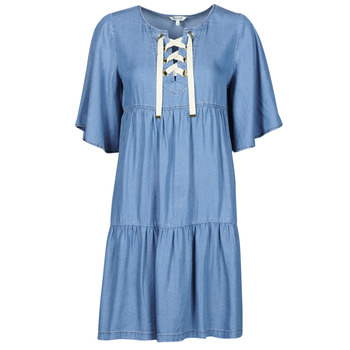 textil Dame Korte kjoler Kaporal TILAN Blå
