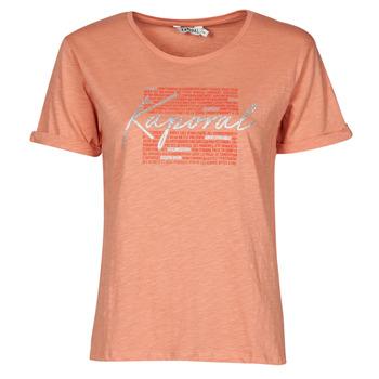 textil Dame T-shirts m. korte ærmer Kaporal PUZZU Pink