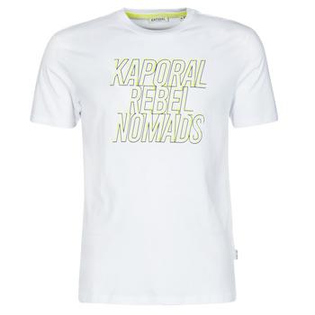textil Herre T-shirts m. korte ærmer Kaporal DARIN Hvid