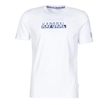 textil Herre T-shirts m. korte ærmer Kaporal DINO Hvid