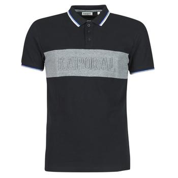 textil Herre Polo-t-shirts m. korte ærmer Kaporal DIAM Sort