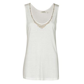 textil Dame Toppe / T-shirts uden ærmer Kaporal PAMPI Hvid