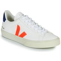 Sko Lave sneakers Veja CAMPO Hvid / Orange / Blå