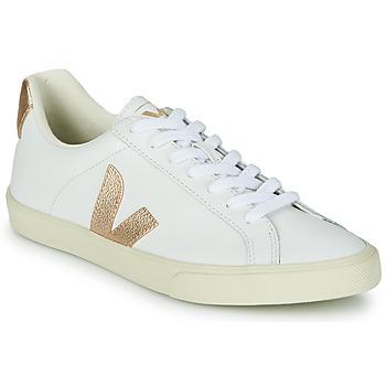 Sko Dame Lave sneakers Veja ESPLAR LOGO Hvid / Guld