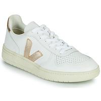 Sko Dame Lave sneakers Veja V-10 Hvid / Guld