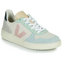 Sko Dame Lave sneakers Veja V-10 Hvid / Blå