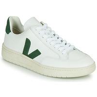 Sko Lave sneakers Veja V-12 Hvid / Grøn
