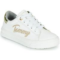 Sko Pige Lave sneakers Tommy Hilfiger SOFI Hvid