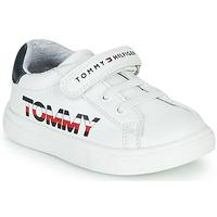 Sko Børn Lave sneakers Tommy Hilfiger MARILO Hvid