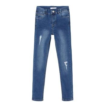 textil Pige Smalle jeans Name it NKFPOLLY Blå