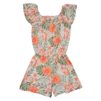 textil Pige Buksedragter / Overalls Name it NKFVINAYA PLAYSUIT Flerfarvet