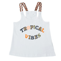textil Pige Toppe / T-shirts uden ærmer Name it NKFFEKIM Hvid
