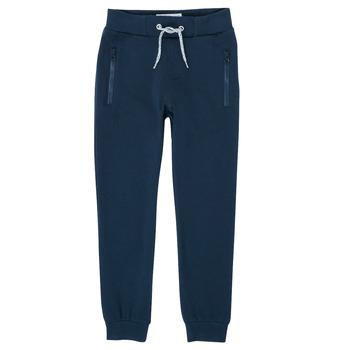 textil Dreng Træningsbukser Name it NKMHONK Marineblå