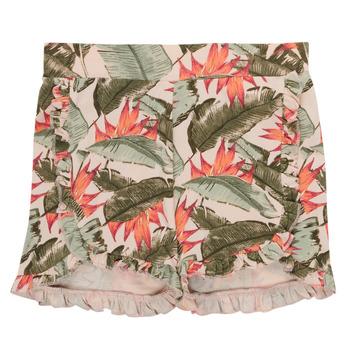 textil Pige Shorts Name it NMFFIBLOOM SHORTS Flerfarvet