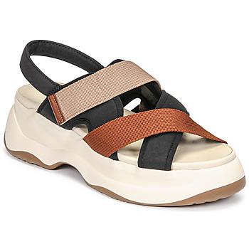 Sko Dame Sandaler Vagabond Shoemakers ESSY Hvid / Rustrød / Sort