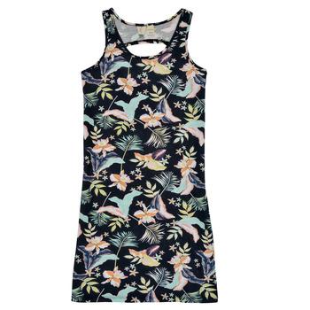 textil Pige Korte kjoler Roxy FLOWER SHADOW DRESS Sort