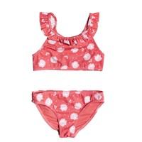 textil Pige Bikini Roxy TEENY EVERGLOW CROP TOP SET Pink