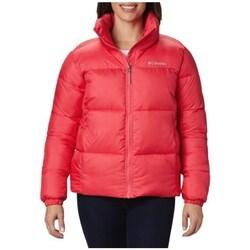textil Dame Dynejakker Columbia Puffect Jacket Rød