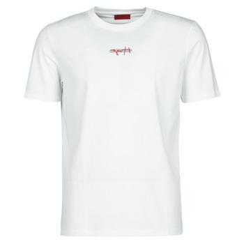 textil Herre T-shirts m. korte ærmer HUGO DURNED Hvid