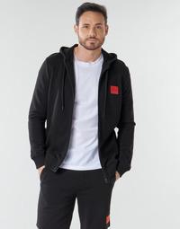textil Herre Sweatshirts HUGO DAPLE Sort