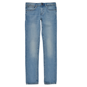 textil Dreng Jeans - skinny Teddy Smith FLASH Blå