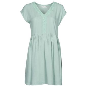 textil Dame Korte kjoler Molly Bracken G801E21 Grøn / Lys