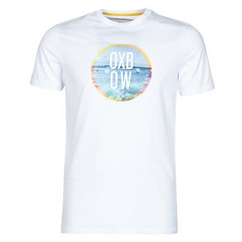 textil Herre T-shirts m. korte ærmer Oxbow N1TERO Hvid