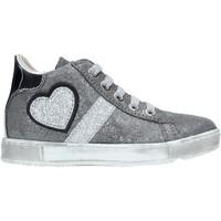 Sko Børn Høje sneakers Naturino 2014191 01 Sølv