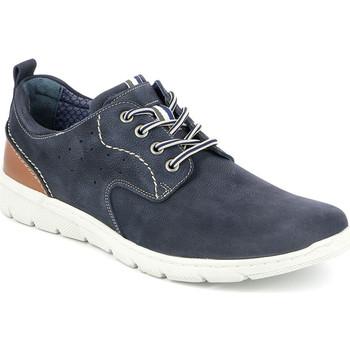 Sko Herre Lave sneakers Grunland SC4522 Blå