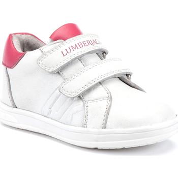Sko Børn Lave sneakers Lumberjack SG64912 003 B01 hvid