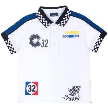 textil Børn T-shirts m. korte ærmer Chicco 09033560000000 hvid
