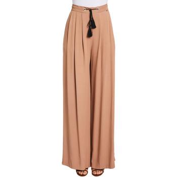 textil Dame Løstsiddende bukser / Haremsbukser Gaudi 011FD25019 Brun