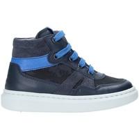 Sko Børn Høje sneakers Nero Giardini A923711M Blå