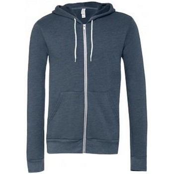 textil Sweatshirts Bella + Canvas CV3739 Heather Navy